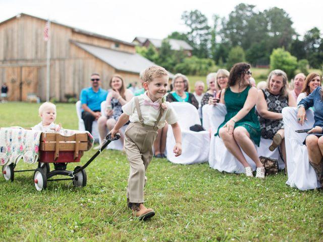 Heath and Amanda's Wedding in Greenback, Tennessee 17