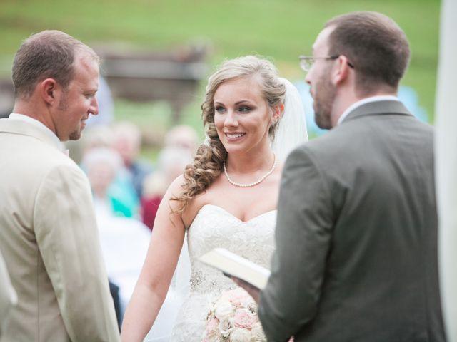 Heath and Amanda's Wedding in Greenback, Tennessee 19