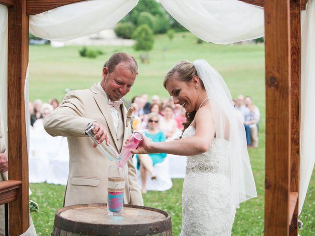 Heath and Amanda's Wedding in Greenback, Tennessee 23