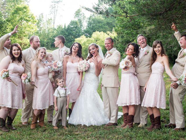 Heath and Amanda's Wedding in Greenback, Tennessee 27