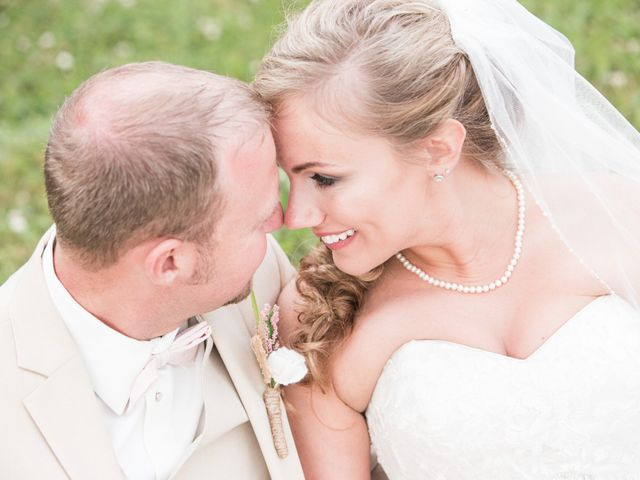 Heath and Amanda's Wedding in Greenback, Tennessee 40