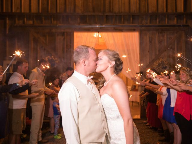 Heath and Amanda's Wedding in Greenback, Tennessee 50