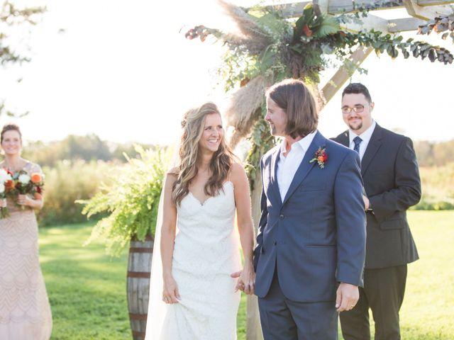 The wedding of Marisa and Dallas