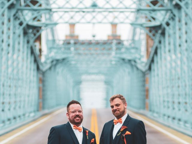 John and Tom's Wedding in Cincinnati, Ohio 22