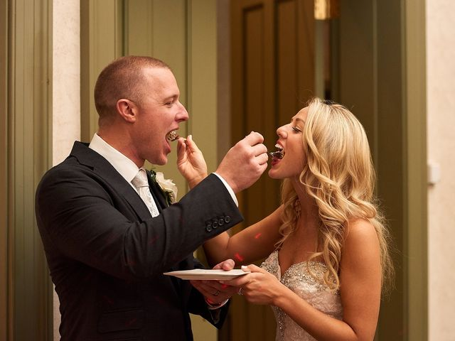 The wedding of Lauren and Chad