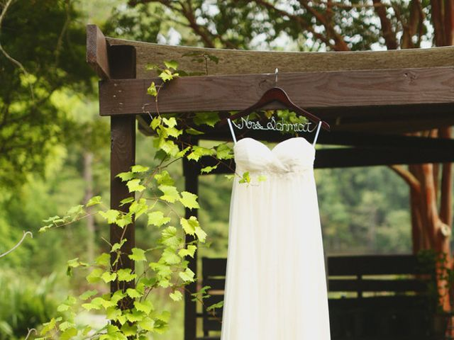 Megan and Taylor's wedding in Alabama 3