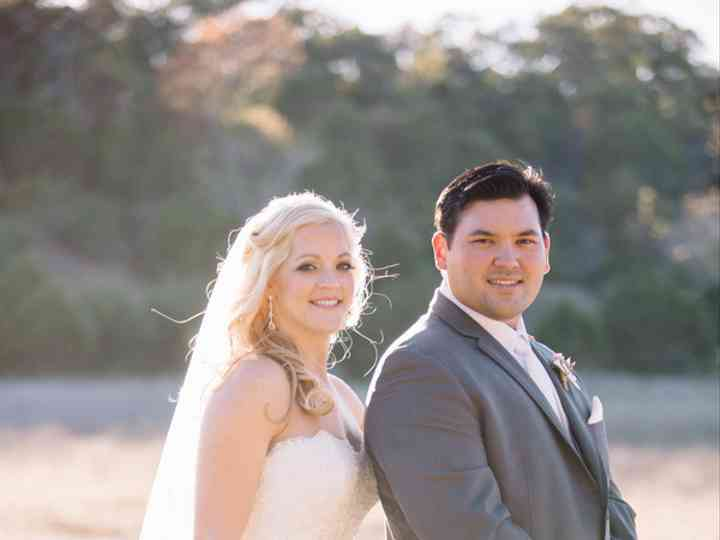 The wedding of Sam and Jennifer