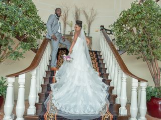 The wedding of Kandyce and Pharaoh