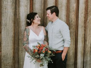 The wedding of Bethany and Brad