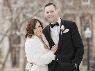 The wedding of Matt and Mary Beth