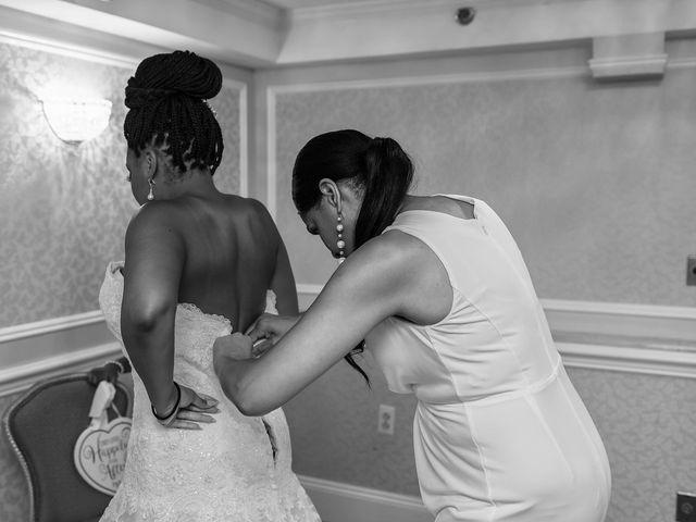 Pharaoh and Kandyce's Wedding in Bridgewater, New Jersey 4