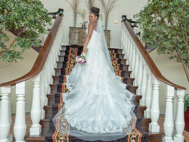 Pharaoh and Kandyce's Wedding in Bridgewater, New Jersey 19