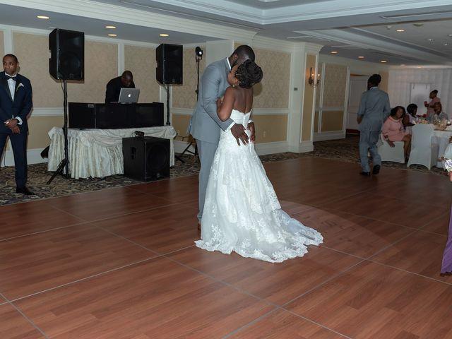 Pharaoh and Kandyce's Wedding in Bridgewater, New Jersey 20
