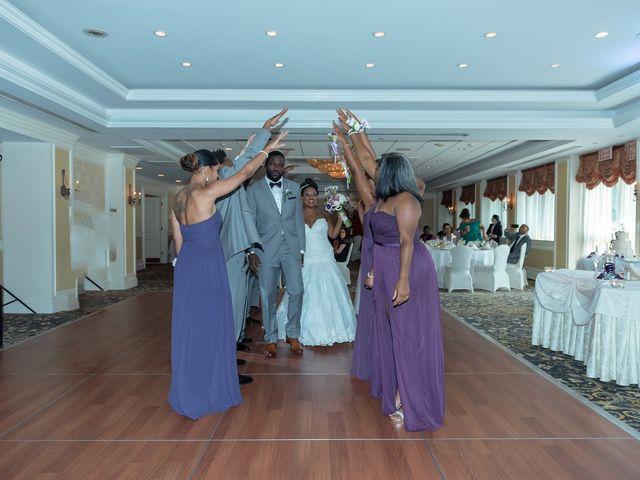 Pharaoh and Kandyce's Wedding in Bridgewater, New Jersey 22
