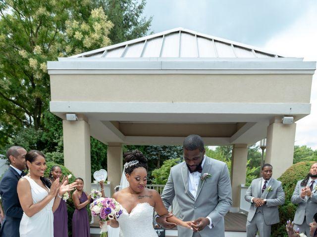 Pharaoh and Kandyce's Wedding in Bridgewater, New Jersey 26
