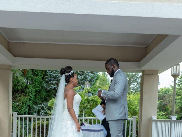 Pharaoh and Kandyce's Wedding in Bridgewater, New Jersey 28
