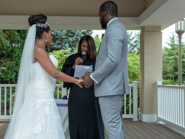 Pharaoh and Kandyce's Wedding in Bridgewater, New Jersey 29