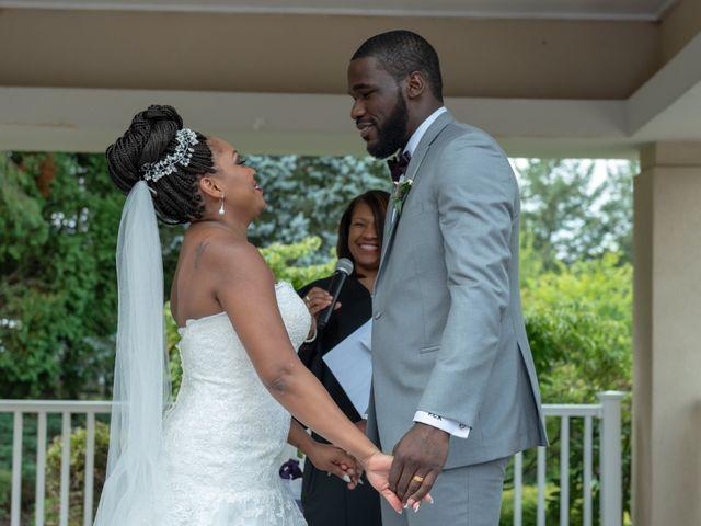 Pharaoh and Kandyce's Wedding in Bridgewater, New Jersey 30