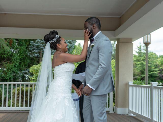 Pharaoh and Kandyce's Wedding in Bridgewater, New Jersey 33