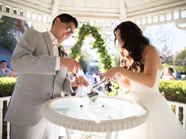 The wedding of Evie and Sal