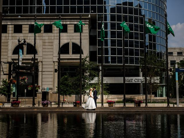 Chris and Katie's Wedding in Buffalo, New York 37