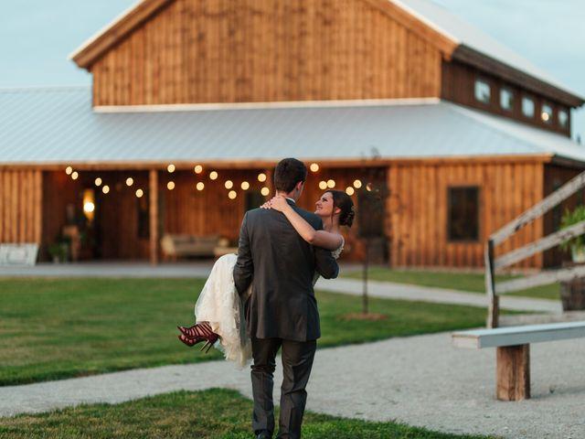 The wedding of Lucas and Rachel