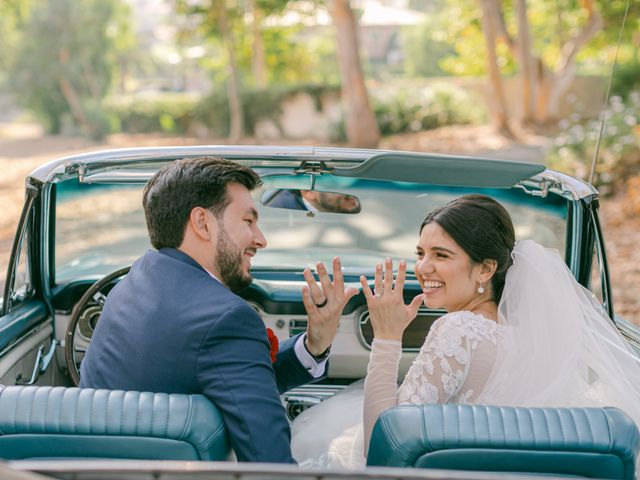 The wedding of Karina and Adam