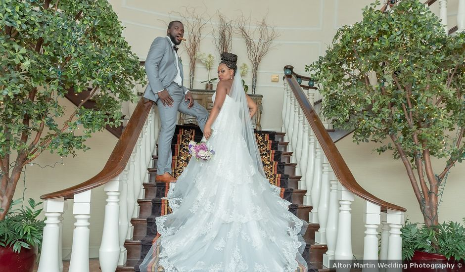 Pharaoh and Kandyce's Wedding in Bridgewater, New Jersey