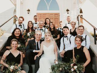 The wedding of Hannah and Josh