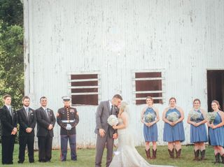The wedding of Lexi and Jordan