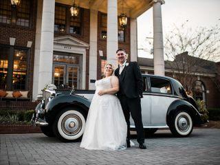 The wedding of Christine and Jason