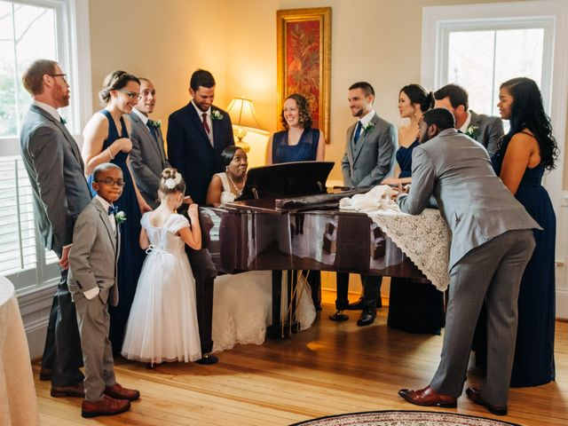 Aaron and Martia's Wedding in Cary, North Carolina 1
