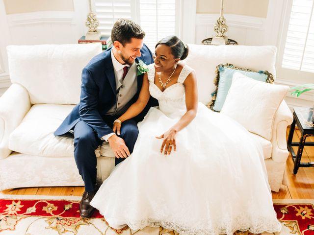 The wedding of Martia and Aaron