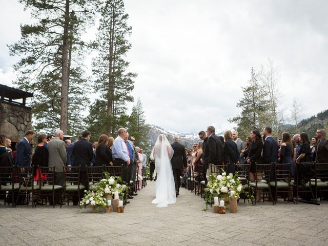Mikael and Lauren's Wedding in Olympic Valley, California 35