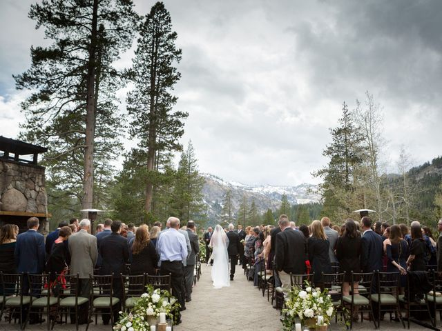 Mikael and Lauren's Wedding in Olympic Valley, California 36