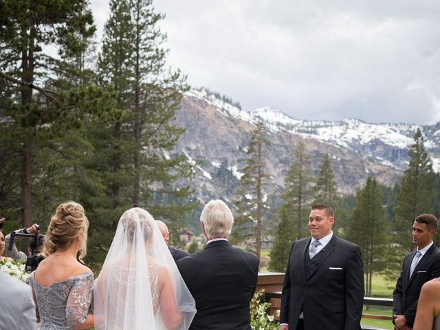 Mikael and Lauren's Wedding in Olympic Valley, California 38