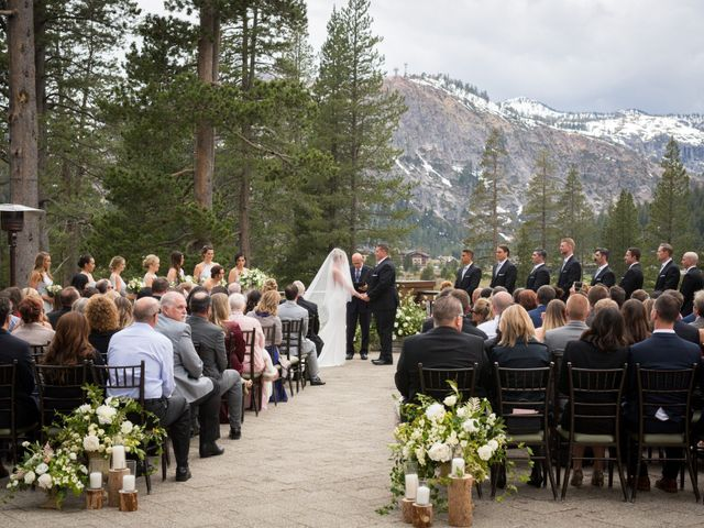 Mikael and Lauren's Wedding in Olympic Valley, California 39