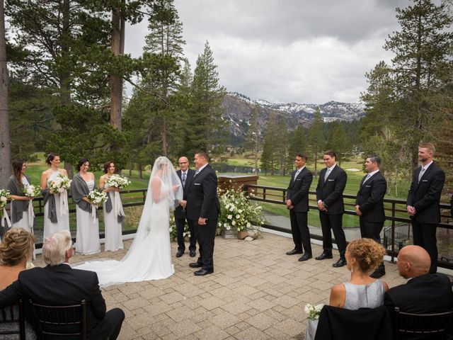 Mikael and Lauren's Wedding in Olympic Valley, California 48