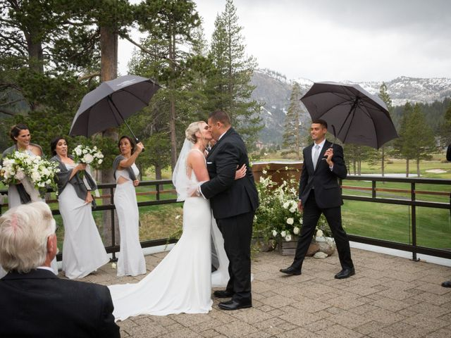 Mikael and Lauren's Wedding in Olympic Valley, California 57