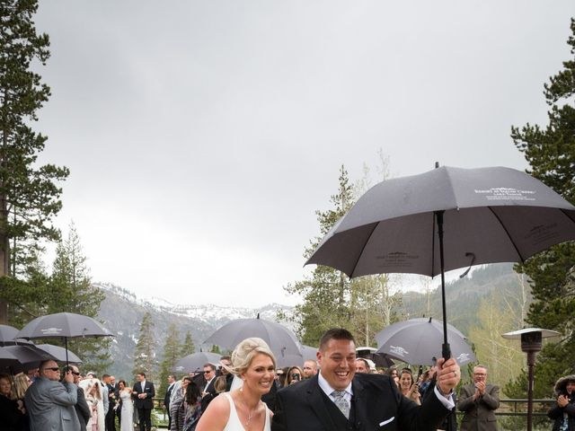 Mikael and Lauren's Wedding in Olympic Valley, California 62