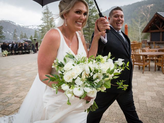 Mikael and Lauren's Wedding in Olympic Valley, California 64