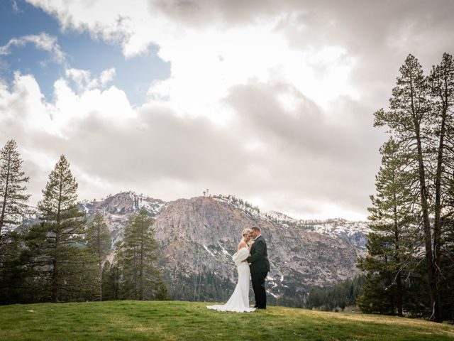 Mikael and Lauren's Wedding in Olympic Valley, California 86