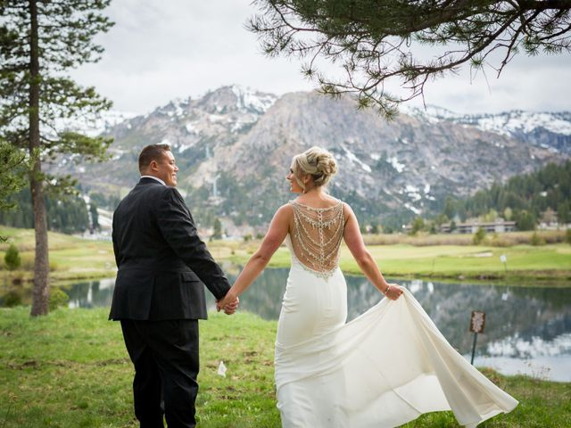 Mikael and Lauren's Wedding in Olympic Valley, California 97