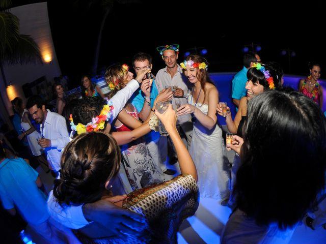 Pedro and Barbara's Wedding in Playa del Carmen, Mexico 6