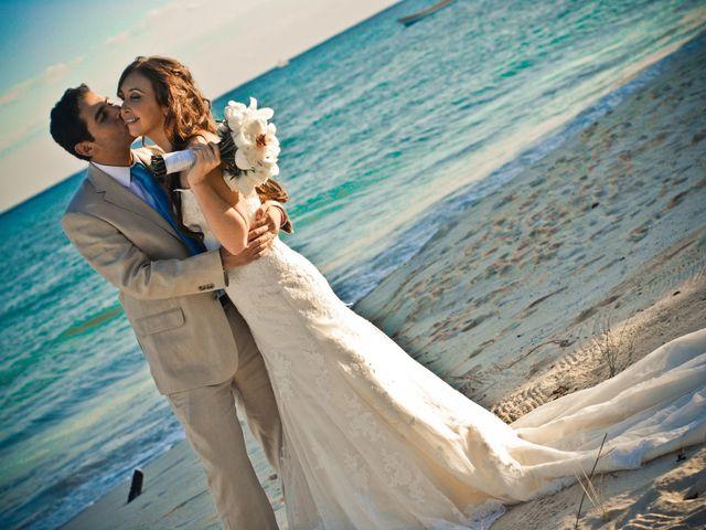 Pedro and Barbara's Wedding in Playa del Carmen, Mexico 14