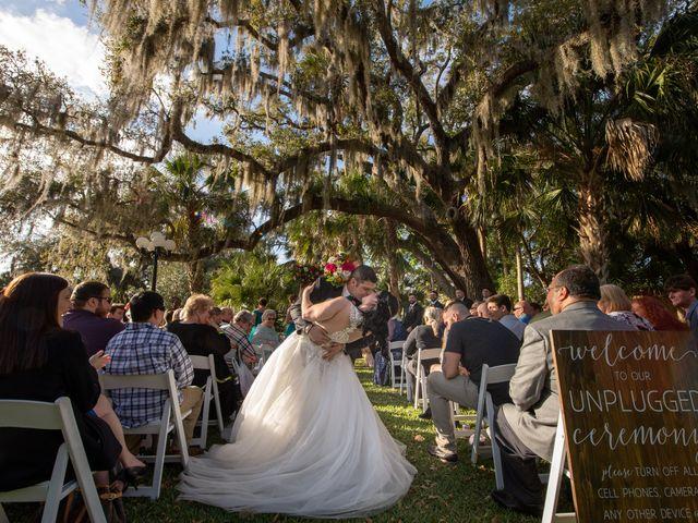 Terrence and Meredith's Wedding in Port Orange, Florida 18