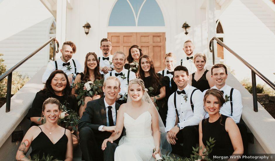 Josh and Hannah's Wedding in Oregon City, Oregon