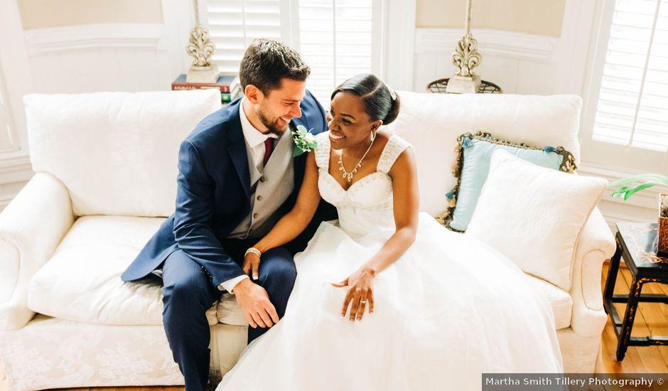 Aaron and Martia's Wedding in Cary, North Carolina