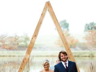 The wedding of Ashley and Zach 1