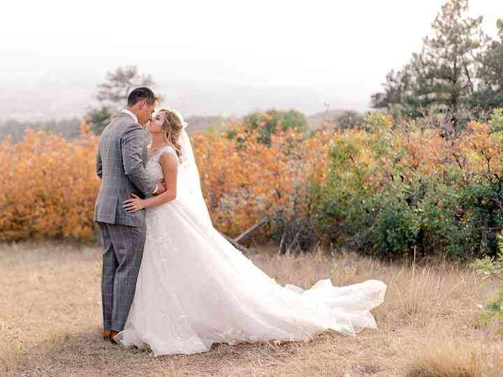 The wedding of Danelle and Michael